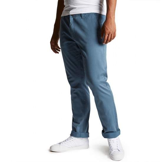 CCS Straight Fit Chino Pants - Steel Blue