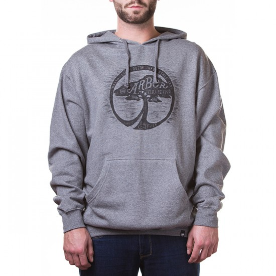 Arbor Apparel Collective Hoodie Sweatshirt - Athletic Grey