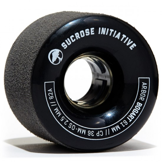 Arbor Bogart Longboard Wheels - 61mm 82a Black