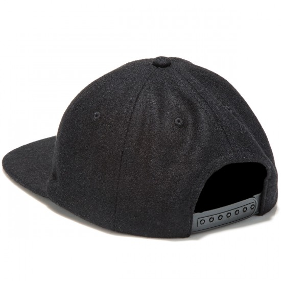 Asphalt Yacht Club Skateboard Fresh Hat - Black