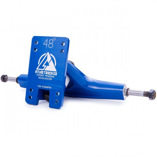 Atlas Truck Co. Longboard Trucks - Blue 180mm