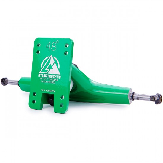 Atlas Truck Co. Longboard Trucks - Vibrant Green 180mm