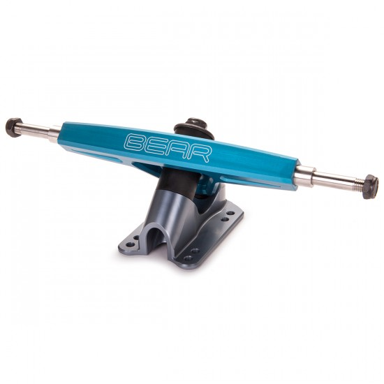 Bear 8mm Precision Grizzly Longboard Trucks - Blue