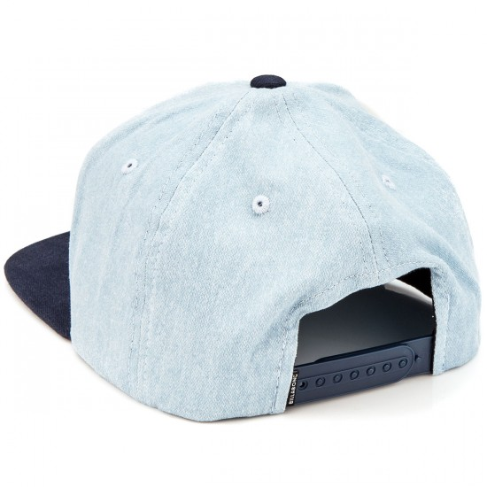 Billabong System Snapback Hat - Blue Heather