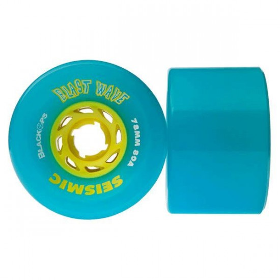 Seismic Blast Wave Longboard Wheels 78mm - Set of 2