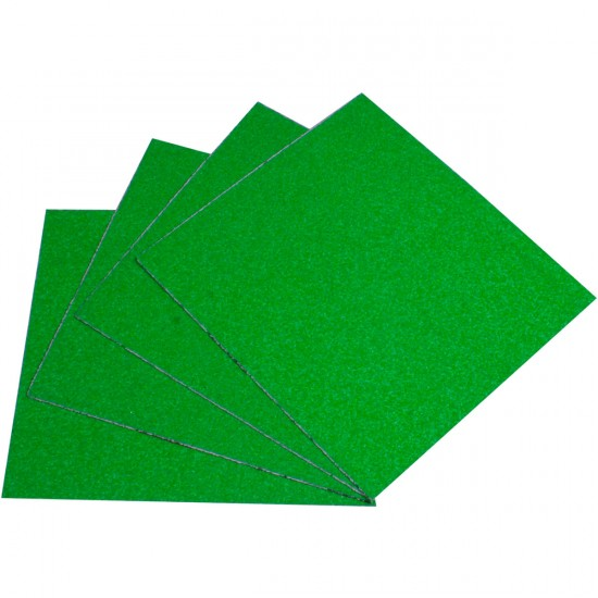 Blood Orange Heavy Duty Grit Griptape 4-Pack - Green