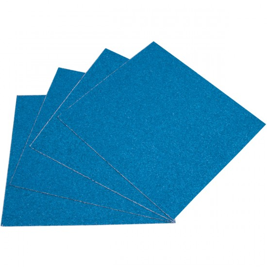 Blood Orange Heavy Duty Grit Griptape 4-Pack - Neon Blue