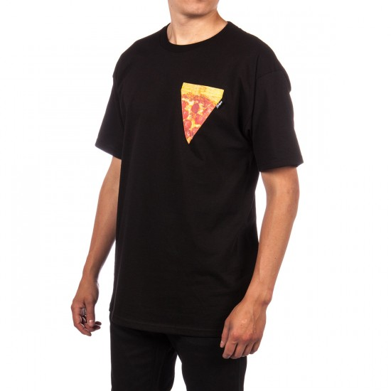 Bohnam Pizza Pocket T-Shirt - Black