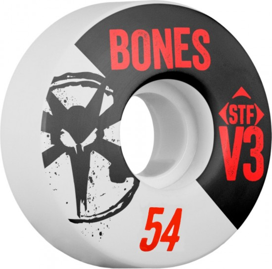Bones STF V3 Series Skateboard Wheels - 54mm - 83B