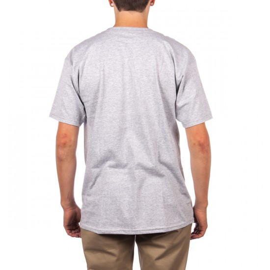 Brixton Coventry T-Shirt - Heather Grey
