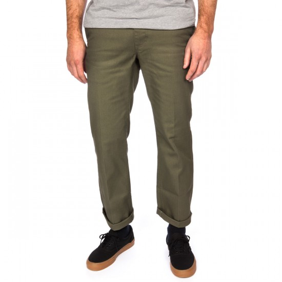 Brixton Fleet Chino Pants - Olive