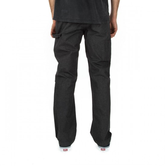 Brixton Fleet Rigid Carpenter Pants - Charcoal - 28 - 32