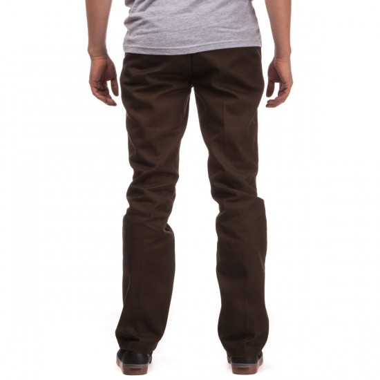 Brixton Fleet Rigid Chino Pants - Brown - 28 - 32