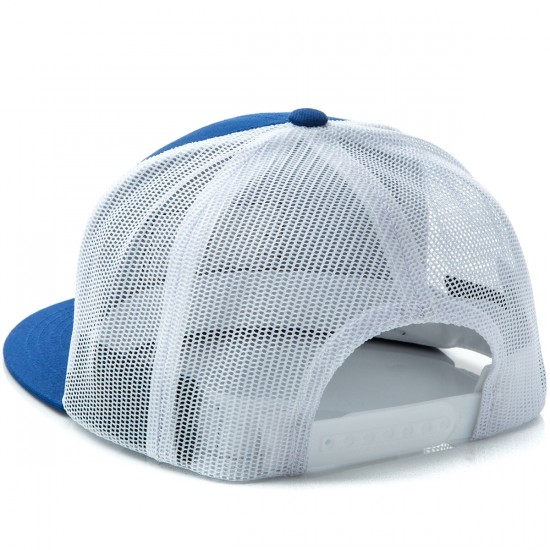 Brixton Fuel Mesh Hat - Royal/White
