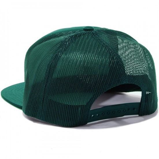 Brixton Grade Mesh Hat - Forest Green