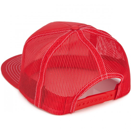 Brixton Grade Mesh Hat - Red