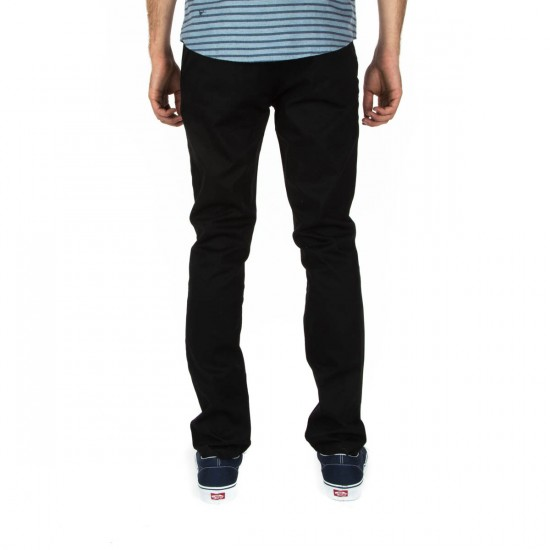 Brixton Grain Chino Pants - Black - 28 - 32