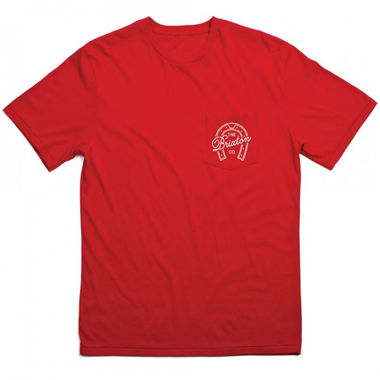 Brixton Hoof T-Shirt - Red