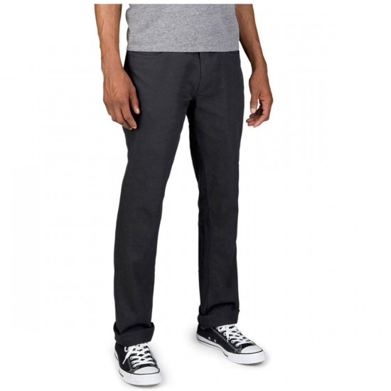 Brixton Reserve 5 Pocket Pants - Black - 28 - 32