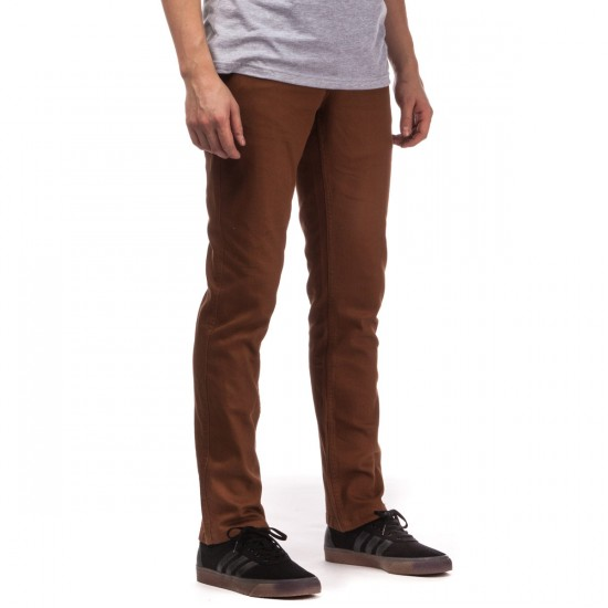 Brixton Reserve 5 Pocket Pants - Chestnut - 28 - 32