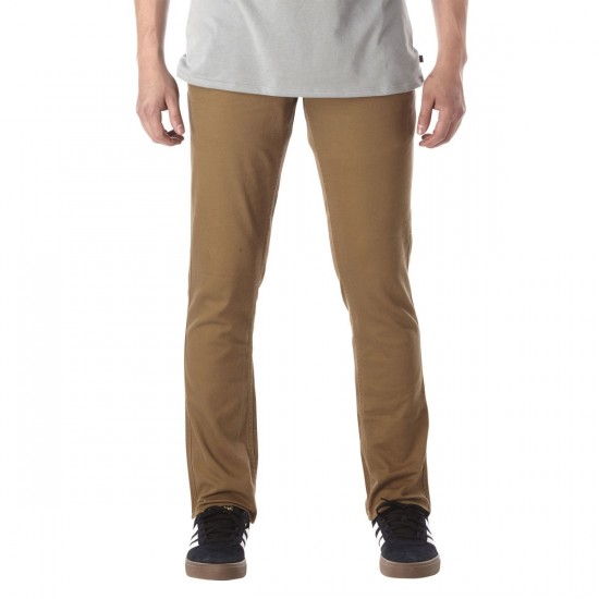 Brixton Reserve 5 Pocket Pants - Sand - 30 - 32