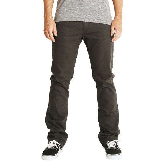 Brixton Reserve Chino Pants - Charcoal