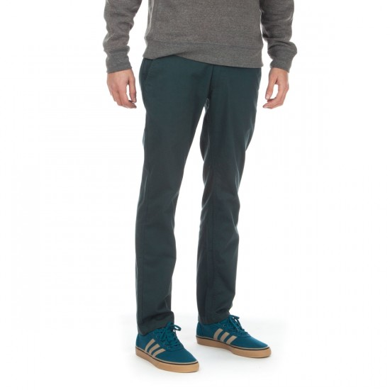 Brixton Reserve Standard Fit Chino Pants - Hunter Green - 28 - 32