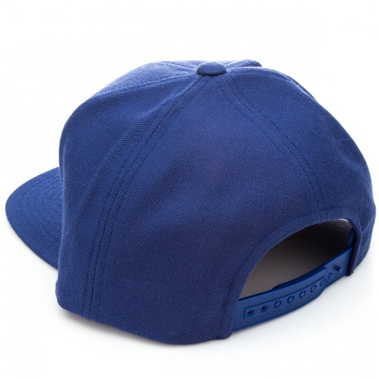 Brixton Rift Snap Back    Hat - Blue/Yellow