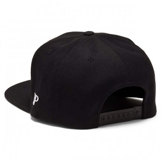 Brooklyn Projects Reaper Snapback Hat - Black