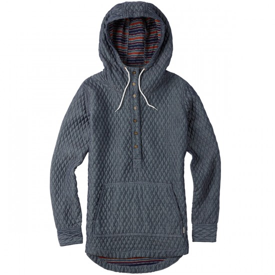 Burton Cabo Pullover Hoodie - Monument Heather