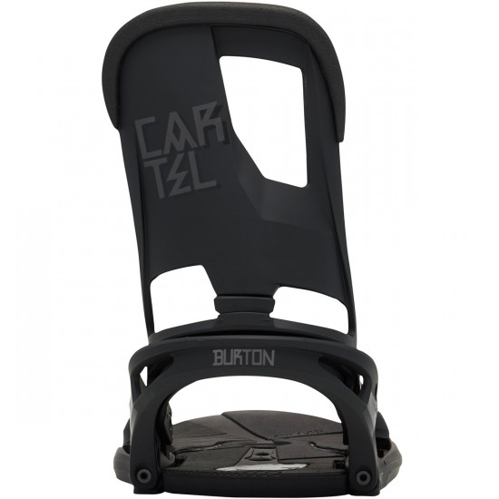 Burton Cartel Snowboard Bindings 2015 - Black