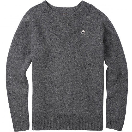 Burton Gus Sweater - Dark Ash Heather