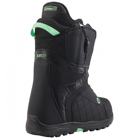 Burton Mint Women's Boots 2015 - Black/Mint
