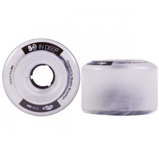 Bustin Five-O Longboard Skateboard Wheels - 72mm