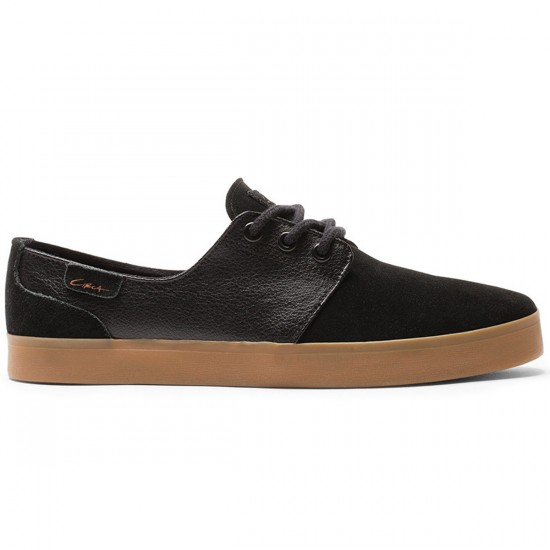 C1rca Crip Shoes - Black/Black/Gum - 6.0