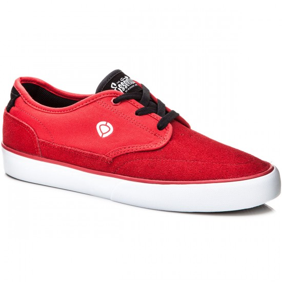 C1rca Essential Shoes - Red/Black/White - 8.0