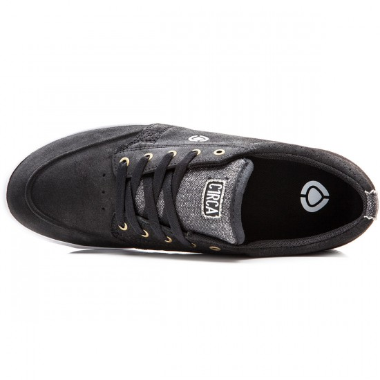 C1rca Transit Shoes - Black/White/Gum - 8.0