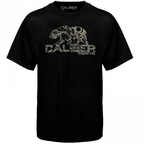 Caliber Cali-Bear T-Shirt - Black