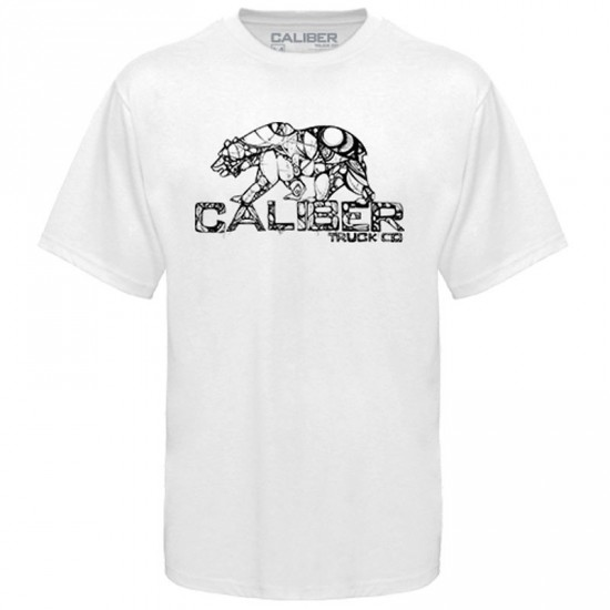 Caliber Cali-Bear T-Shirt - White
