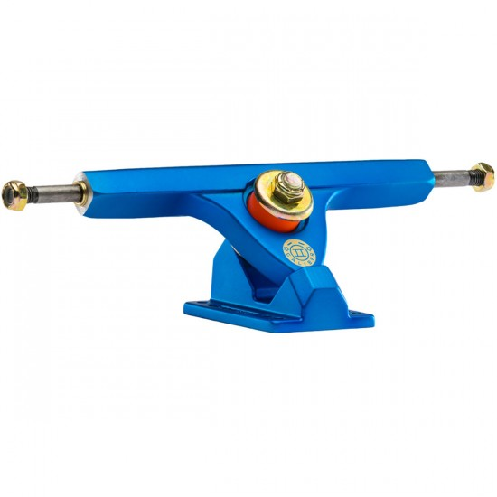 Caliber II Longboard Trucks - Satin Blue / Orange 44 Degree