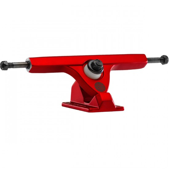 Caliber II Longboard Trucks - Satin Red Rum 50 Degree