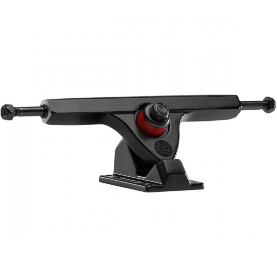 Caliber II Longboard Trucks - Black / Black 50 Degree