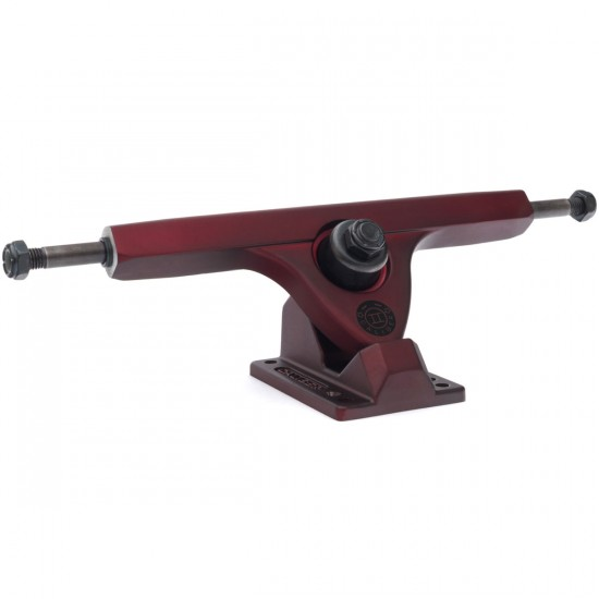 Caliber II Longboard Trucks - Midnight Satin Red 50 Degree