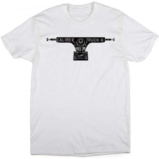 Caliber Truck T-Shirt - White