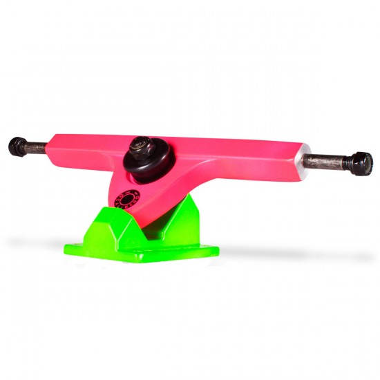 Caliber Longboard Trucks - 44 Degree - Acid Melon