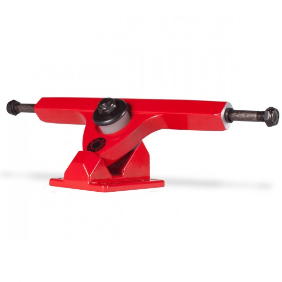 Caliber Longboard Trucks - 44 Degree - Red Rum