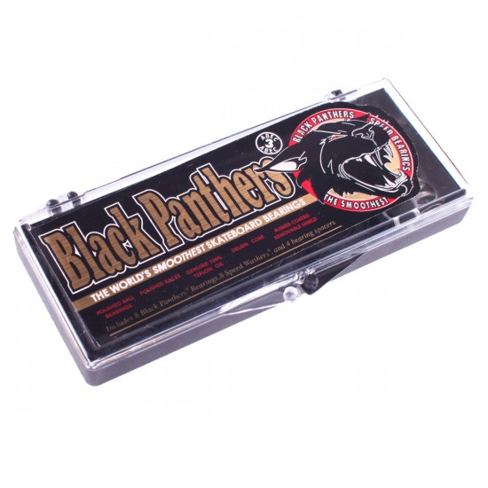 Shorty's Black Panther Abec 3 Skateboard Bearings