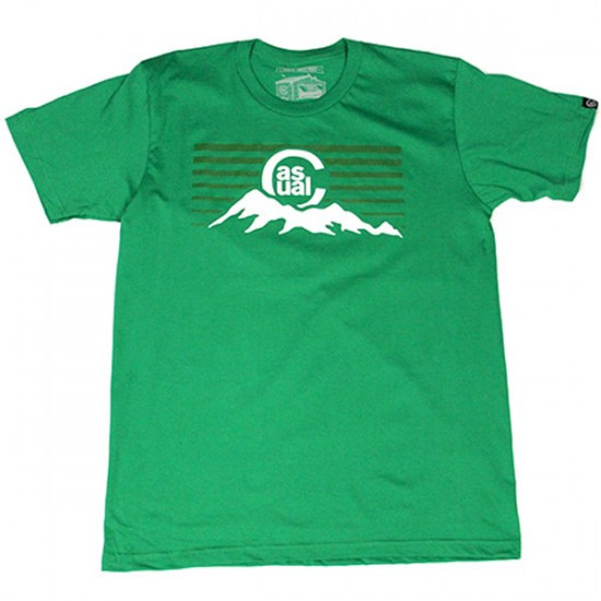 Casual Industrees C-MTN T-Shirt - Kelly Green