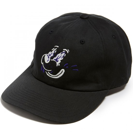 CCS Bad Trip Strapback Hat - Black/Glow