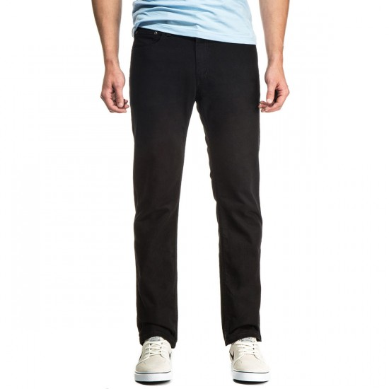 CCS Slim Straight Fit Jeans - Black - 36 - 34